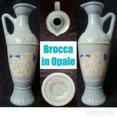 OPALE  A FORMA DI BROCCA - ANNI '50 (opaline, opalina)