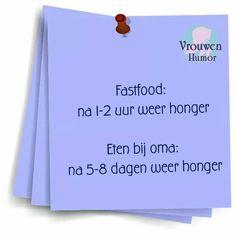 Fastfood...