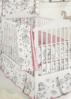 China Doll Crib Bedding By Whistle & Wink