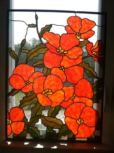 California Poppies by Frankie's Studio
