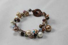 Crochet Beaded Necklace Pattern | Bead Crochet bracelet