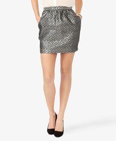 #Forever21                #Skirt                    #Dotted #Metallic #Tulip #Skirt                     Dotted Metallic Tulip Skirt                                                   http://www.seapai.com/product.aspx?PID=108144