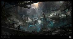 Epic Games - Concept Development - Social Network for Visual Effects Professionals - VFX Art Portal