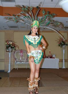 Aztec Costumes | Miss Tennessee Latina 2007, Mariela Flores | Flickr - Photo Sharing!