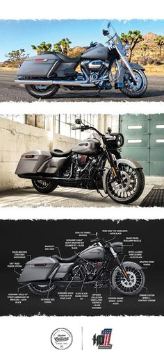 For those who want to tour on their own terms. | 2017 Harley-Davidson Road King