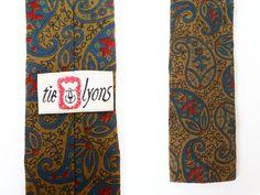 Midcentury Skinny Tie Hipster Necktie Wedding Groom by hanniandmax, $29.00