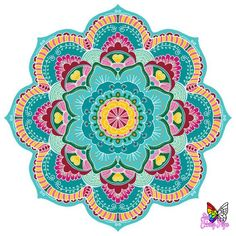 Large Wall Mandala Mural For Yoga Studio Large Mandala image 3 Mandala Drawing, Mandala Painting, Dot Painting, Watercolor Mandala, Mandala Canvas, Watercolor Leaves, Star Coloring Pages, Mandala Coloring Pages, Coloring Tips