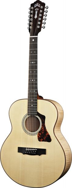 Guild GAD JF30-12 twelve-string acoustic guitar.  Beautiful.