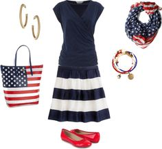 """for the 4th"" by danicogs on Polyvore"