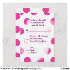 Pink Polka Dot Weddi