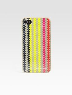 Marc by Marc Jacobs Arrowhead iPhone Case #SaksLLTrip (we wouldn't want my phone to get too hot in that Mexican sun:))