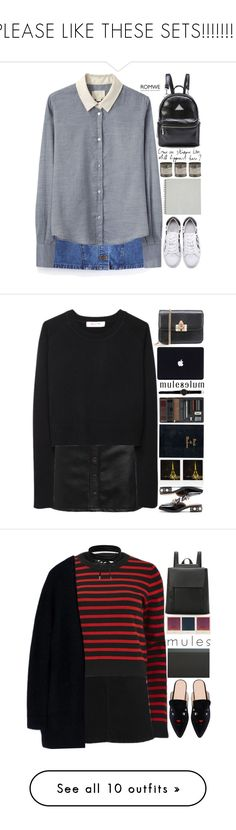 """""""PLEASE LIKE THESE SETS!!!!!!!!!"""" by scarlett-morwenna ❤ liked on Polyvore featuring Band of Outsiders, Le Labo, vintage, Organic by John Patrick, Polaroid, Marc by Marc Jacobs, Boohoo, Acne Studios, mules and slipemon"""