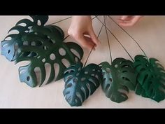 Crepe Paper Flowers Tutorial, Paper Flowers Diy, Flower Crafts, Pottery Painting Designs, Paint Designs, Fun Crafts, Diy And Crafts, Giant Flowers, Flower Template