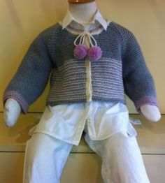 Child's Knitted Short Jacket