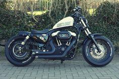 Harley Davidson Sportster 48 XL 1200X forty eight Umbau | eBay #harleydavidsoncustomsportster #harleydavidsonsporster #harleydavidsonbobbersfortyeight