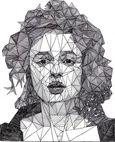 Simply Creative: Triangulations Portraits by Josh Bryans: