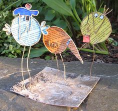 Upcycle Home, Paper Angel, Diy Belts, Easter Egg Crafts, Paper Birds, Craft Club, Wire Crafts, Deco Table, Glass Birds