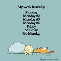 My week basically monday friday Doodles on Coffee Sleeping Working Life instagram pinterest twitter facebook architecture architect
