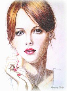Color pencil sketch 261113 @Novianny Widya