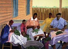Dane Tilghman, African American Artist Known as Premier Painter of the African American Experience