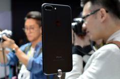 I Tried the New Apple Gadgets — Here's What They're Like to Use The new iPhone 7 Plus in black. For anyone opting for a minimalist tone, the matte black iPhone is a nice option.