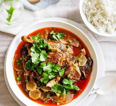 Australian Gourmet Traveller recipe for red duck curry by Hungry Duck restaurant in Berry, NSW. Duck Recipes, Chef Recipes, Curry Recipes, Asian Recipes, Ethnic Recipes, Oriental Recipes, Indonesian Recipes, Savoury Recipes, Chinese Recipes