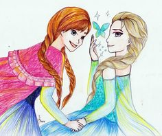 Anna From Frozen Fan Art | Creative Commons Attribution-Noncommercial-No Derivative Works 3.0 ...