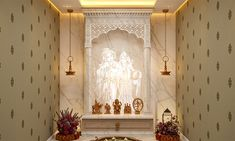 East Direction, Pooja Mandir, Cnc Cutting Design, Pooja Room Door Design, Porch Area, Puja Room, Religious Books, Duplex House, Minimalist Home Interior