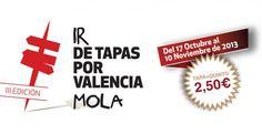 Ir de Tapas por Valencia 2013
