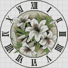 Hours scheme embroidery - New Embroidery - Embroidery
