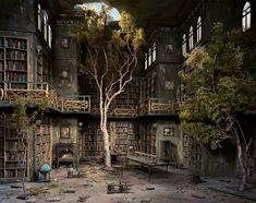 naturaleza reclama una libreria