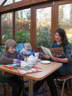Afternoon Tea, Family,Tea Room at the Dorothy Clive Garden in Staffordshire