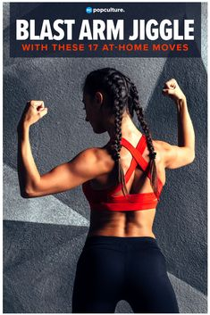 Blast serious Arm Jiggle with these 17 Free Weight Exercises for Toned Arms. Workout with weights at home for slim, toned, tank top ready arms! Arm Workouts At Home, Toning Workouts, Dumbbell Workout, Butt Workout, Weight Exercises, Free Weight Arm Workout, Arm Exercises With Weights, Arm Workout Women With Weights, Girl Workout