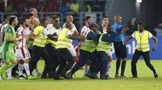 Sędzia piłkarski podyktował niesłusznie rzut karny • Puchar Narodów Afryki • Gwinea Równikowa vs Tunezja • Zobacz błąd sędziego >>