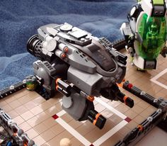 LEGO BlackOps Griffon by tpcowan, via Flickr