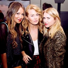 Sincerely Jules & friends at the Who What Wear x Bloglovin' x LYST party