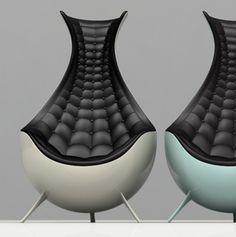 Ultra modern chairs by The Chair LTD