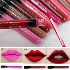 New Makeup Lip Gloss Waterproof Long-Lasting  Lip Tint Cute Style Plumper Liquid Matte Lip Stick brillo de labios 1580366 #clothing,#shoes,#jewelry,#women,#men,#hats,#watches,#belts,#fashion,#style