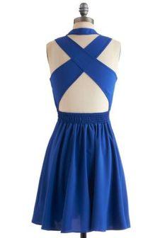 Crisscross off Your List Dress