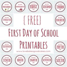 First Day of School Ideas - The NY Melrose Family
