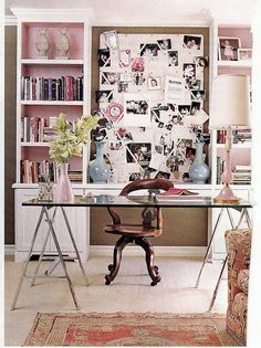 Home Office - Design photos, ideas and inspiration. Amazing gallery of interior design and decorating ideas of Home Office in dens/libraries/offices by elite interior designers - Page 4