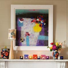 Living room fireplace display | Living room decorating | housetohome.co.uk