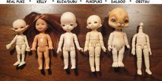 TINY DOLL BODY COMPARISON | by PeggytoesCrochet