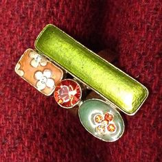 Stylish Fun Cool Designer Signed Stamped by SilverUnique, $35.00