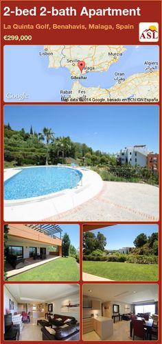2-bed 2-bath Apartment in La Quinta Golf, Benahavis, Malaga, Spain ►€299,000 #PropertyForSaleInSpain