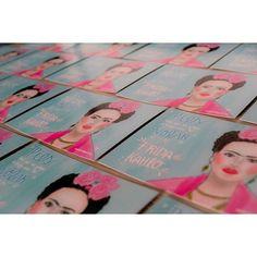 L i t t l e T h i n g s.   #Illustration #postcard #girlpower #art #artwork #womenpower #empowerdwoman #fridakahlo