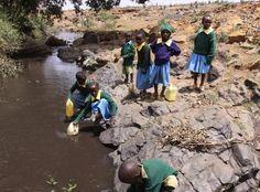 25% życia na zdobywanie wody? To nie mit, to smutna rzeczywistość!   Bliżej źródeł