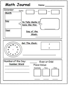 Printables Morning Math Worksheets do you need daily morning work or homework for your first graders i use saxon math and created this piece based on several other worksheets i