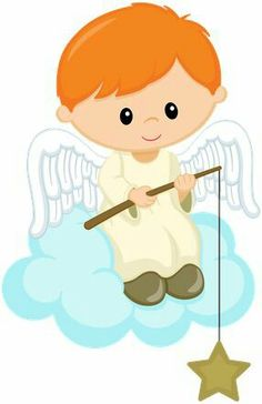 Baby Boy Baptism, Baptism Party, Baby Boy Shower, Angel Clipart, Clipart Boy, Family Clipart, Baptism Decorations, Angel Drawing, Angel Crafts