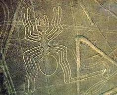 L'araignée de lignes de ##nazca #perou